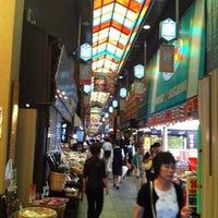 Photo taken at Nishiki Market by fumio s. on 7/26/2012