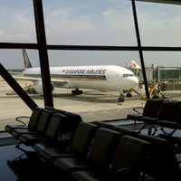 Photo taken at SQ807 PEK-SIN / Singapore Airlines by Jerry S. on 7/14/2012