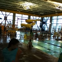 Photo taken at Clearfield Aquatic and Fitness Center by Ivan E. on 4/7/2011