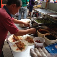 Photo taken at Pasar Malam Bangsar by san s. on 7/15/2012