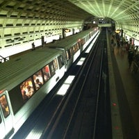 Photo taken at Smithsonian Metro Station by Bill D. on 9/4/2012