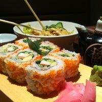 Photo taken at Sushi Yoshi by Turki A. on 5/7/2012