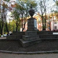 Photo taken at Площадь Жертв Революции by Ilya F. on 5/19/2012