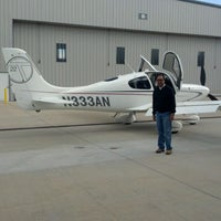 Photo taken at Independence Aviation, LLC by Aaron N. on 11/15/2011