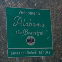Photo taken at Alabama/Tennessee State Line by John G. on 11/24/2011