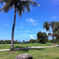 Photo taken at Crandon Golf at Key Biscayne by A I. on 7/23/2011