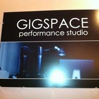 Photo taken at GIGSPACE by Amanda C. on 1/7/2012