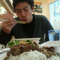 Photo taken at Saigon Cuisine by Amanda Y. on 1/23/2012