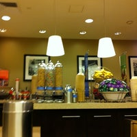 Photo taken at Hampton Inn Manhattan - Times Square North by Daniel G. on 11/23/2011