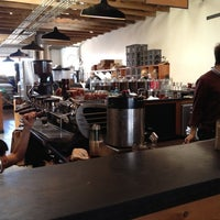 Photo taken at Four Barrel Coffee by Nick R. on 4/14/2012