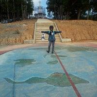 Photo taken at Tugu Katulistiwa (Equator) by wd40 3. on 9/11/2011