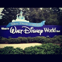 Photo taken at Walt Disney World Entrance by Evgeny Z. on 8/14/2012
