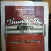 Photo taken at Thumbs Up Diner by Cash H. on 3/18/2012