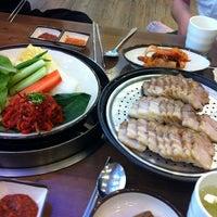 Photo taken at 뽕잎사랑 by Jihee K. on 8/29/2011