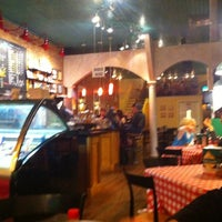 Photo taken at Sam And Greg's Pizzeria, Gelateria by Ben L. on 11/20/2011