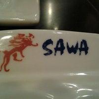 Photo taken at Sawa Japanese Cuisine by Kia'vonna O. on 11/13/2011