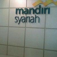 Photo taken at Mandiri Syariah @ Kemang by Ipay I. on 2/10/2012