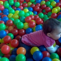 Photo taken at Kinderland Indoor Play and Café by Julia W. on 1/19/2012
