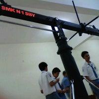 Photo taken at Studio Broadcasting SMK N 1 Surabaya by aldyo bagus p. on 8/28/2012