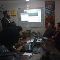 Photo taken at Garoa Hacker Clube by Pedro S. on 8/7/2012