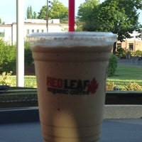Photo taken at RED LEAF Organic Coffee by Theresa . on 7/1/2012