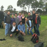 Photo taken at Rhinos Paintball by César P. on 12/20/2011