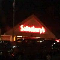 Photo taken at Sainsbury's by John E. on 12/22/2011