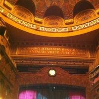 Photo taken at Teatrul Național Timișoara by Daniel Ovidiu B. on 2/20/2012