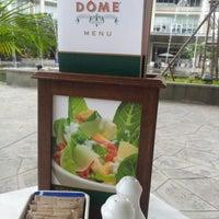 Photo taken at DÔME Café by fiffy h. on 9/6/2012