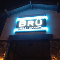 Photo taken at Bru Grill & Market by Brett D. on 12/24/2011