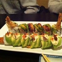 Photo taken at Fuki Sushi by Amanda C. on 1/2/2012