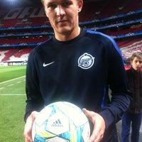 Снимок сделан в Футбольный клуб «Зенит» / FC Zenit пользователем Egor K. 4/13/2012