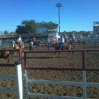 Photo taken at Prescott Rodeo Grounds by Rick W. on 9/24/2011