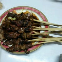 Photo taken at Sate Kambing & Sate Ayam Jaya Agung by Rina S. on 9/14/2011