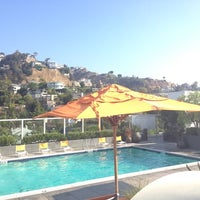 Photo taken at Andaz West Hollywood by Lauren Elizabeth G. on 9/11/2012
