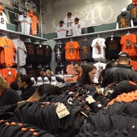 Photo taken at Giants Dugout Store by Pedro P. on 4/4/2012