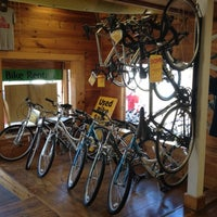 Photo taken at Acadia Bike Rentals by Dan S. on 8/24/2012