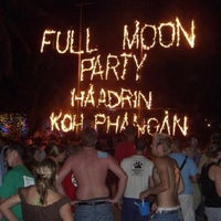 Photo taken at Full Moon Party by manita k. on 8/4/2012