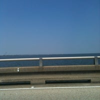 Photo taken at Lake Pontchartrain Causeway by Jolie L. on 8/27/2011