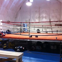 Photo taken at Muckleshoot Boxing Gym by Celeste B. on 5/3/2011
