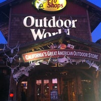 Photo taken at Bass Pro Shops Outdoor World by Sarah G. on 1/4/2012