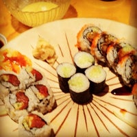 Photo taken at Samurai Sushi by Charley C. on 10/25/2011