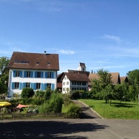 Photo taken at Altes Schulhaus by phidou on 7/2/2012