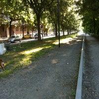 Photo taken at Lungo Po Antonelli by Edo L. on 7/23/2012