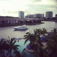 Photo taken at Crowne Plaza Hollywood Beach Resort by Jay T. on 8/28/2012