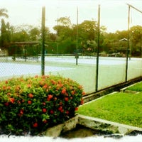 Photo taken at Tennis 25 -Sports Club by Arief J. on 1/20/2012