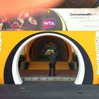 Photo taken at Sony Tennis Hotspot by Charles J. on 11/3/2011