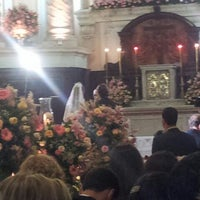 Photo taken at Igreja Matriz Santa Margarida Maria by Vinicius M. on 12/2/2011