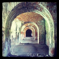 Photo taken at Fort Morgan State Historic Site by Toni B. on 7/10/2012