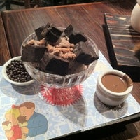 Photo taken at Max Brenner Chocolate Bar by Nam K. on 7/9/2011